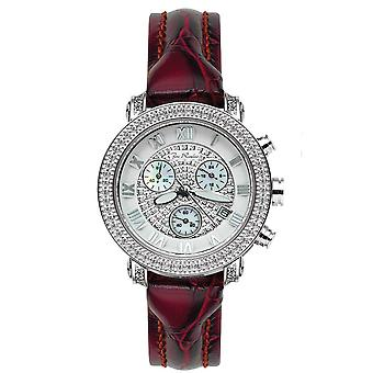 Joe Rodeo diamond ladies watch - PASSION silver 0.6 ctw