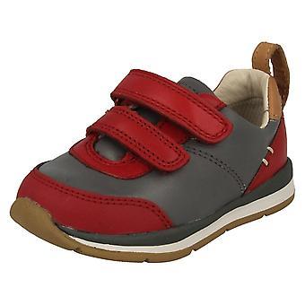 Infant Boys Clarks First Walking Shoes Ferris Cap
