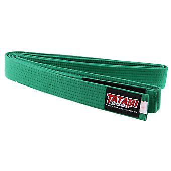 Tatami Fightwear Kids BJJ Rank Green Belt