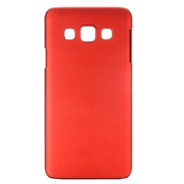 Hard case red rubber sleeve for Samsung Galaxy A3 A300 A300F