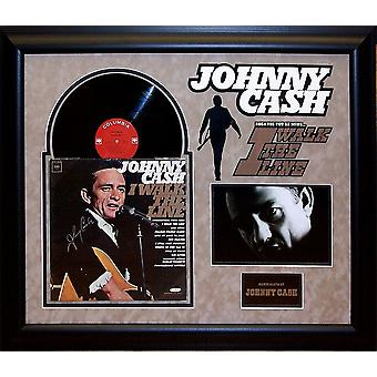 Johnny Cash - Walk The Line - Signed Album -