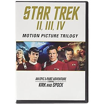 Star Trek: Motion Picture Trilogy [Blu-ray] USA import