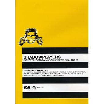 Shadowplayers [DVD] USA importerer