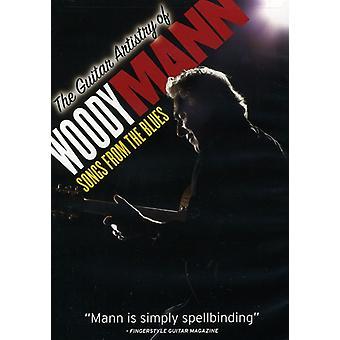 Woody Mann - Guitar artisteri af Woody Mann-sange fra the Blues [DVD] USA import