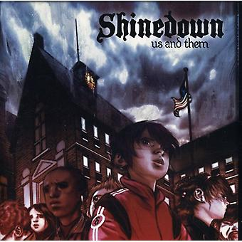 Shinedown - Us & Them [CD] USA import