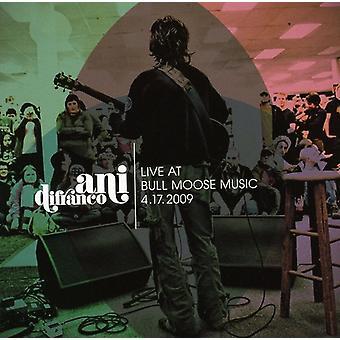Ani Difranco - Live på Bull Moose 4-17-2009 [CD] USA import