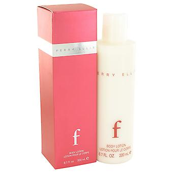Perry Ellis Women Perry Ellis F Body Lotion By Perry Ellis