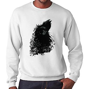 Batman Dark Knight Silhouette Moon Men's Sweatshirt