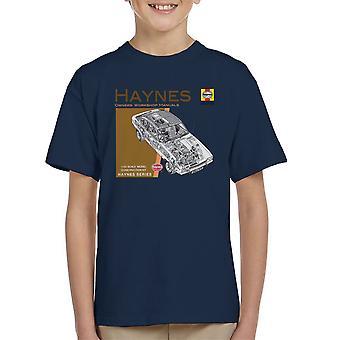 Haynes Owners Workshop Manual 0375 Ford Capri II V6 Kid's T-Shirt