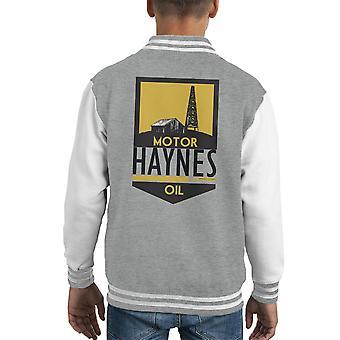 Haynes Penn Drake Motor Oil Kid's Varsity Jacket