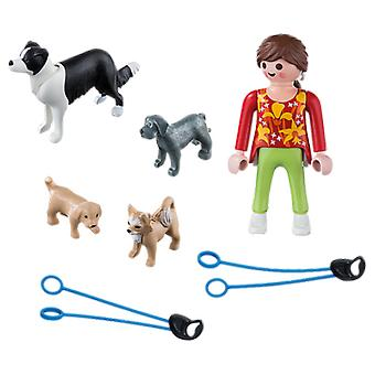 Playmobil 5380 Dog Walker (Toys , Dolls And Accesories , Miniature Toys , Mini Figures)