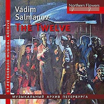 Chernushenko, Vladislav / Leningrad Po / Leningrad - Salmanov: Oratorio tolv / Big City Lights [CD] USA import