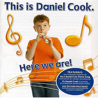 Daniel Cook - her er vi! [CD] USA import