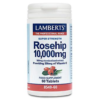 Lamberts Rosehip 60 Tablets 10,000 mg (Vitamins & supplements , Multinutrients)