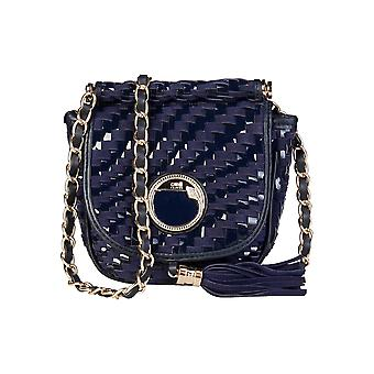 Cavalli Crossbody Bags Women Blue