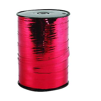 SALE -  250m Metallic Red Wide Curling Ribbon | Gift Wrap Supplies