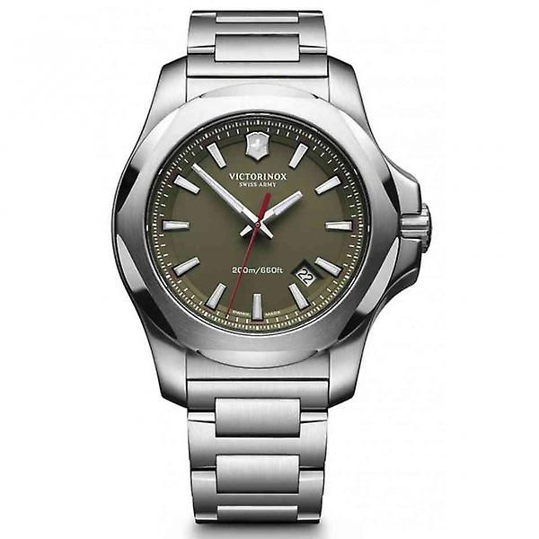 Victorinox Swiss Army 241725.1 I.n.o.x Green Stainless Steel Swiss Watch