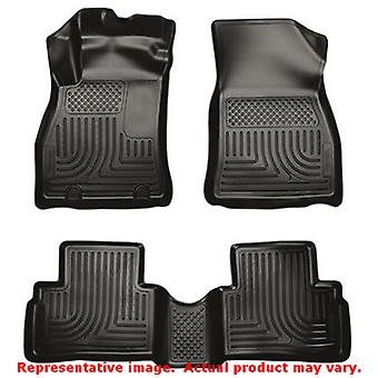 Black Husky Liners # 98621 WeatherBeater Front & 2nd Sea FITS:NISSAN 2011 - 201
