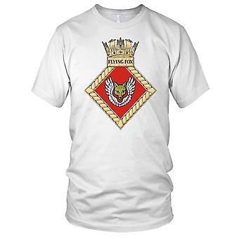 Royal Navy HMS Flying Fox Mens T-Shirt