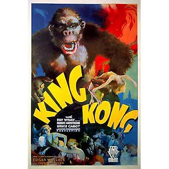 King Kong 1933 (Style A) Poster Print (24 x 36)