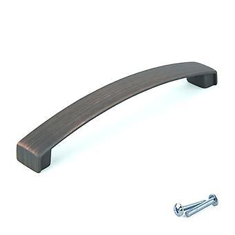 M4TEC Bar Küchenschrank Tür Griffe Schränke Schubladen Schlafzimmer Möbel Ziehgriff verbrannt Kupfer. W3-Serie