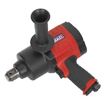 Sealey Gsa6005 Air Impact Wrench 1In Sq Drive Twin Hammer