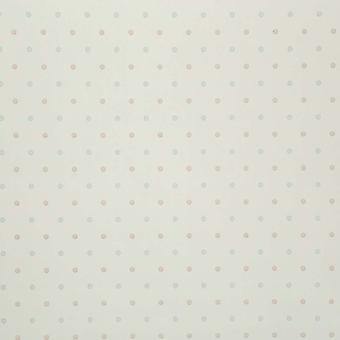 Sanderson Blue Wallpaper Roll - Patterned Flat Dot Design - Colour: DOPTDN102