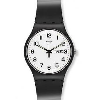 Swatch två gånger igen Armbanduhr (SUOB705)