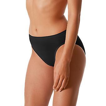 Mey 89200-3 Frauen Leuchten schwarz einfarbig Schlüpfer Panty Slip