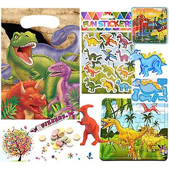Pre Filled Ready Made Party Bag - Unisex - Dinosaur (Single )