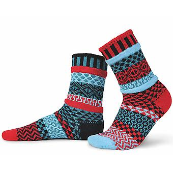 Mars recycled cotton multicoloured odd-socks | Crafted by Solmate
