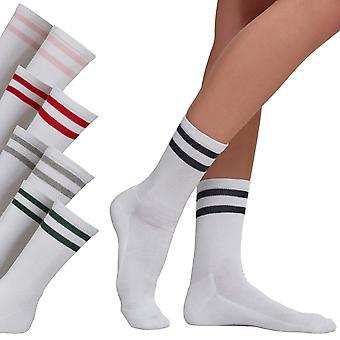 Urban Classics - 2-STRIPE unisex tennis socks 2-Pack