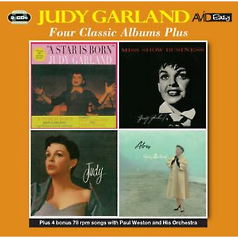 Four Classic Albums Plus (A Star Is Born / Miss Show Business / Judy / Alone) by Judy Garland