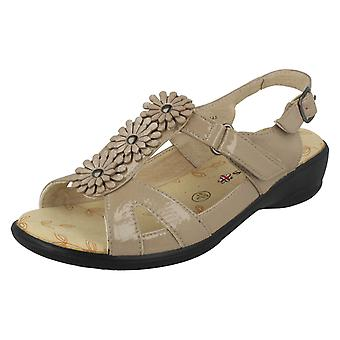 Ladies Padders Wide Fitting Sandals Paris