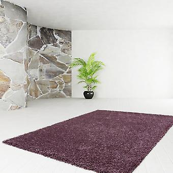 OFFER rugs shaggy soft SHAGGY cheap soft UNI carpet discount violet