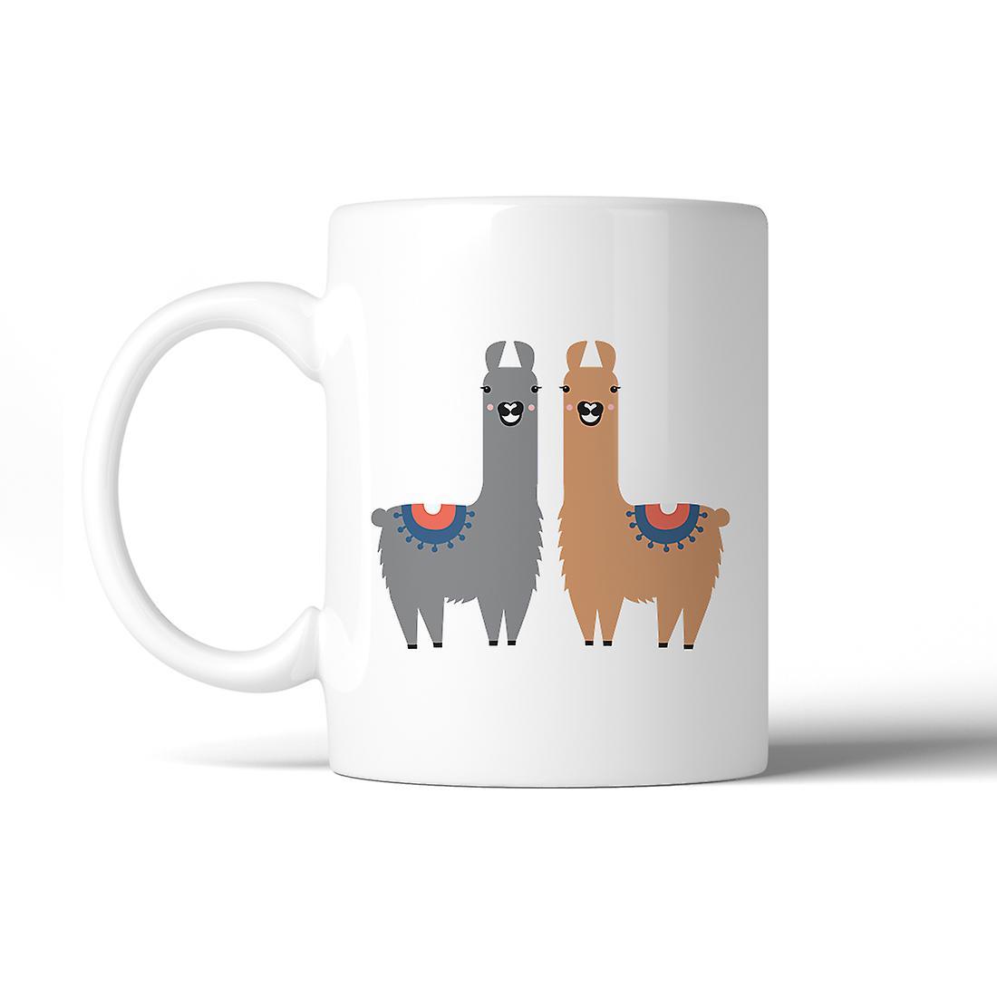 Safe Pattern Ceramic Mug Dishwasher Llama Coffee Microwave Gift iPOkZXuT