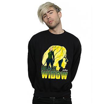 Marvel Men's Avengers Infinity War Black Widow Character Sweatshirt