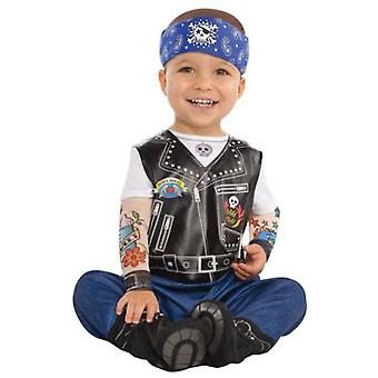 Amscan Biker costume for children (Babies and Children , Costumes)