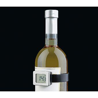 Cilio Premium Clip-On Digital Wine Thermometer - Incl. Battery & Serving Guide