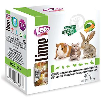 Lolo Lolo Bl Lima Vegetales Roedores 40G (Small pets , Treats)