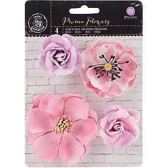 Amethyst-Aquarell Mulberry Paper Flowers, 2