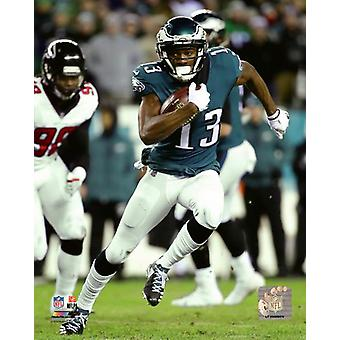 Nelson Agholor  2017 NFC Divisional Playoff Game Photo Print