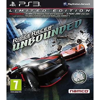 Ridge Racer onbegrensde - gelimiteerde editie (PS3)