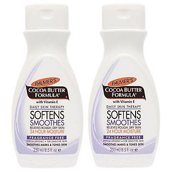 Palmers Cocoa Butter Formula Fragrance-Free Lotion 250ml (2-Pack)
