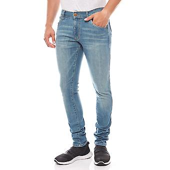 Wrangler mens blue stretch denim Bryson