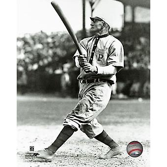Honus Wagner Action Photo Print