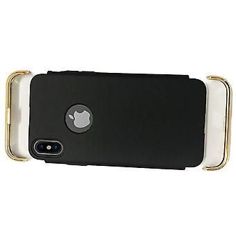 Black and Golden shell for iPhone X