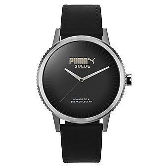PUMA reloj silicona de pulsera reloj unisex gamuza edición limitada PU104101001