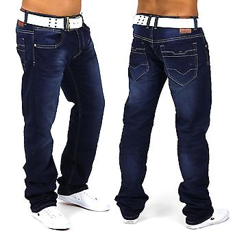 Men precious Jeans Vintage Denim Clubwear Club Diamant