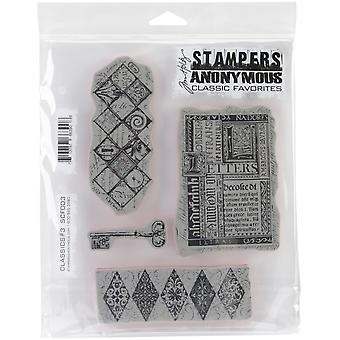 Stampers Anonymous Cling Stamps 7